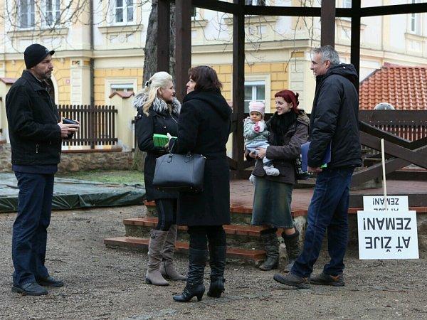 Poslední zastávkou Miloše Zemana vÚsteckém kraji je Kadaň.