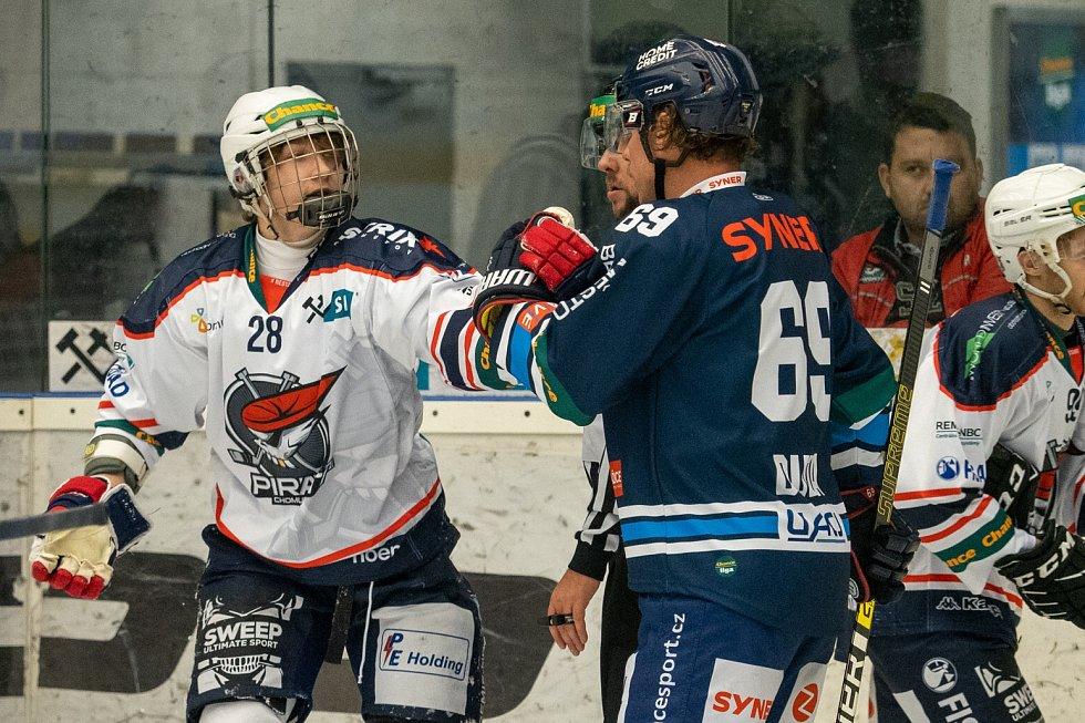 Chomutov doma hostil Benátky a hosté si  odvezli dva body po výhře v prodloužení.