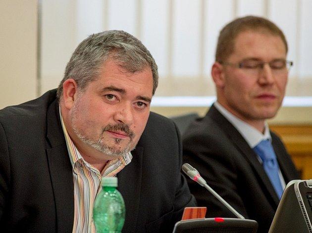 Daniel Černý na archivním snímku ještě ve funkci primátora Chomutova