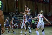 Chomutovské basketbalistky oplatily Slavii porážku.