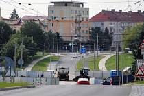 Dvořákova ulice v Jirkově.