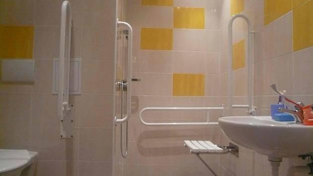 Koupelna po rekonstrukci - Domov pro seniory na Písečné.