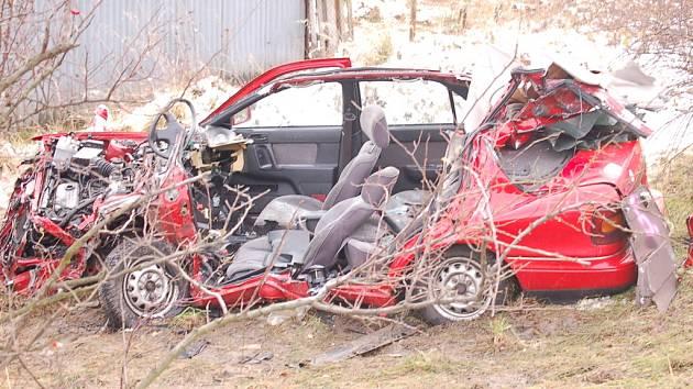 Nehoda u Málkova.