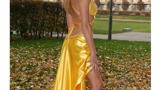 Michaela Štoudková (na snímku) bude jednou z modelek Fashion show 2007.