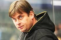 Dnes už bývalý trenér Chomutova Mikuláš Antoník