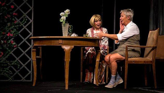 Daniela Kolářová a Dana Syslová rozehrají sdalšími herci pražského Divadla Palace místy úsměvný, místy dojemný příběh zfrancouzského venkova.