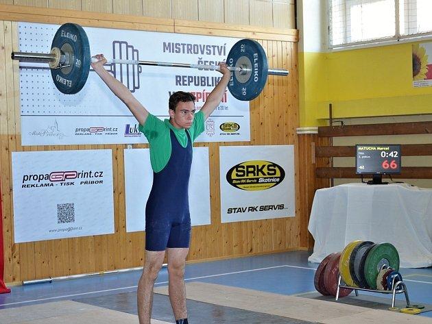 Marcel Matucha si vytvořil osobní rekord