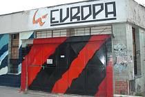 Současná podoba bývalého kina Evropa.