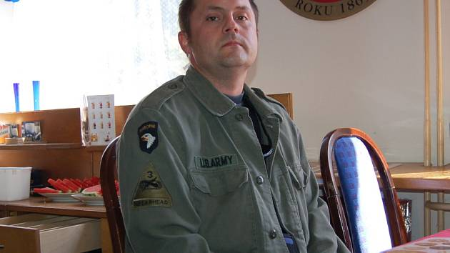 Chomutovský strážník  Karel Patočka.