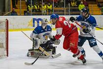 Utkání Česko - Finsko na Turnaji pěti zemí U18 v Klášterci nad Ohří
