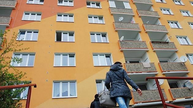Byty v Chomutově. Ilustrační foto.