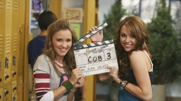 Snímek z TV seriálu Hannah Montana.