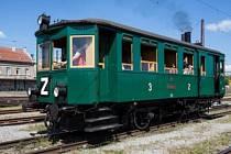 Parní motorový vůz M 124.001 Komarek
