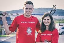Vanda Hrbková a Karel Šantora.