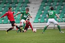 Z utkání FC Chomutov - MFK Chrudim 1 : 1