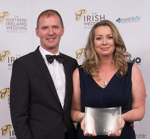 Věra McCullough vúnoru získala prestižní ocenění Jeweller of the Year 2019for Northern Ireland.