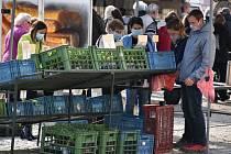 V sobotu se v Chomutově na náměstí 1. Máje opět uskuteční Severočeské farmářské trhy.