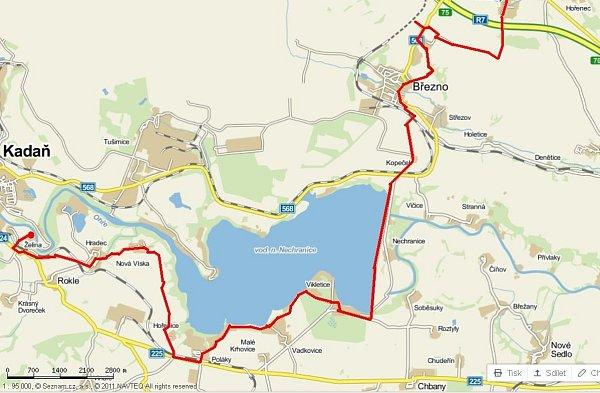 Mapa cyklotipu.