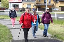 Chomitovští turisté vyrazili na první pokovidový pochod.
