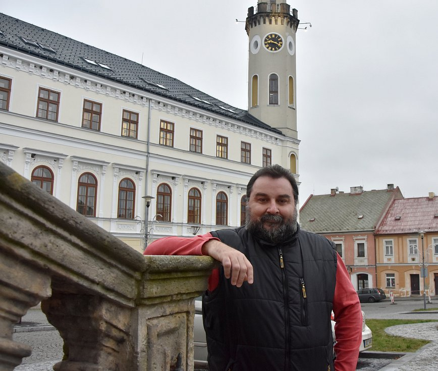 Petr Hybner je od ledna druhým kláštereckým místostarostou.