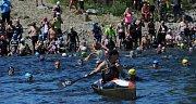 Hopman triatlon u Nechranické přehrady