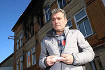 Vejprtský  místostarosta města Vlastimír Volín, který pomáhal při požáru domova pro mentálně postižené mezi prvními.