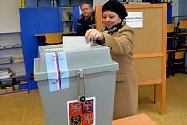 Volby v Klášterci nad Ohří.