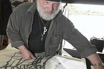 Umělecký kovář Karel Meloun