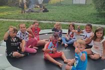Děti měly zábavný den na zahrádce