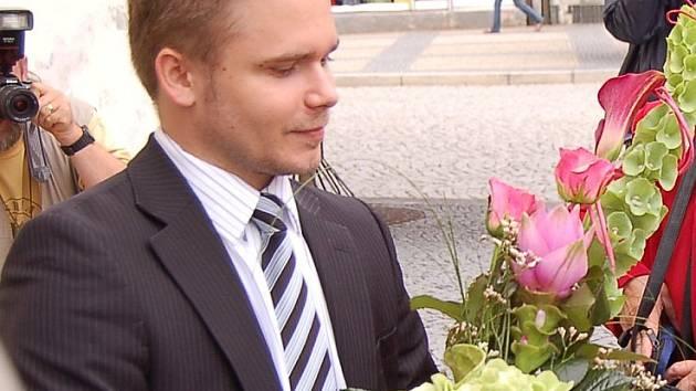 Bývalý chomutovský mluvčí Pavel Novák.