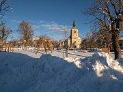 Zimní pohled na Měděnec. (5.2.2019)