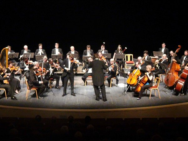 Festivalový orchestr Petra Macka.