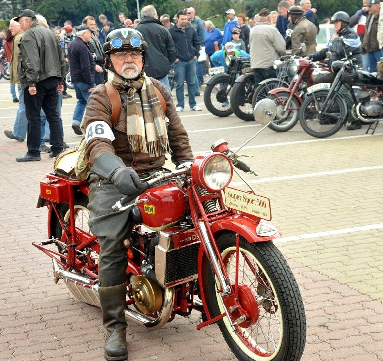 Motocykl Rößiger Günther DKW Super Sport, r.v. 1929 ve výjimečném provedení.