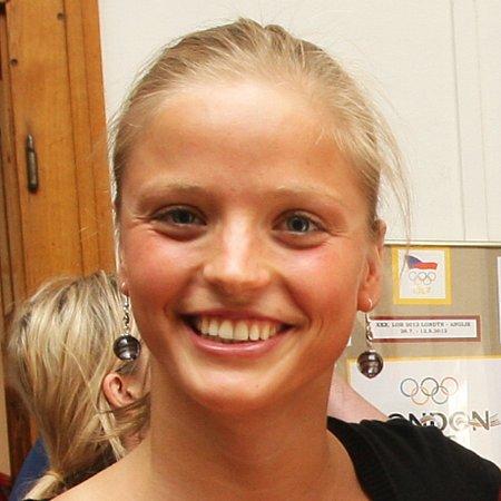 Simona Baumrtová,plavání.
