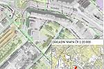 Plán prací v chomutovské ulici Karolíny Světlé