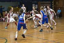 Národní finále v basketbalu U 12.