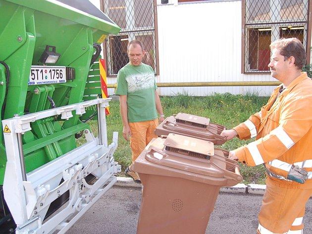 Technické služby města Chomutova.