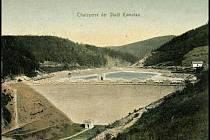 Historie vodního díla Kamenička