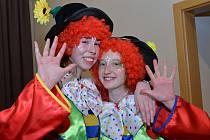 Karneval v Domě kultury Jirkov.