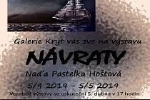 Plakát láká na novou výstavu do Klášterce.