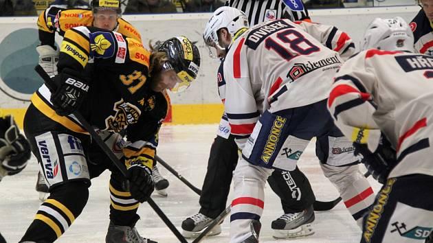 Utkání s Litvínovem bylo posledním domácím zápasem Tomáše Divíška.