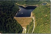 Jirkovská přehrada.