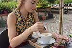 V zelené oáze údlického zahradnictví vyrostla kavárna.