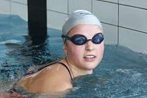 Chomutovská plavkyně Simona Baumrtová byla opět úspěšná