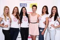 Krásné dívky, které postoupily z loňského castingu České Miss 2014