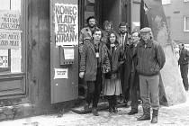 Listopad 1989 na Chomutovsku