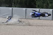 Mistrovství světa superbiků na mosteckém autodromu.