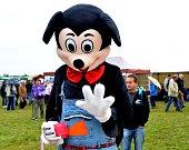 Zábavu našly na slavnostech hlavně děti. A dorazila i návštěva z Disneylandu.