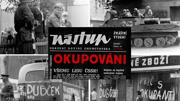 Začátek okupace 21. srpna 1968