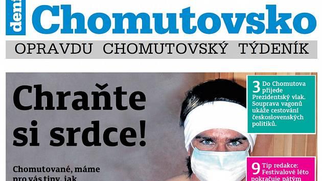 Týdeník Chomutovsko ze 17. července 2018